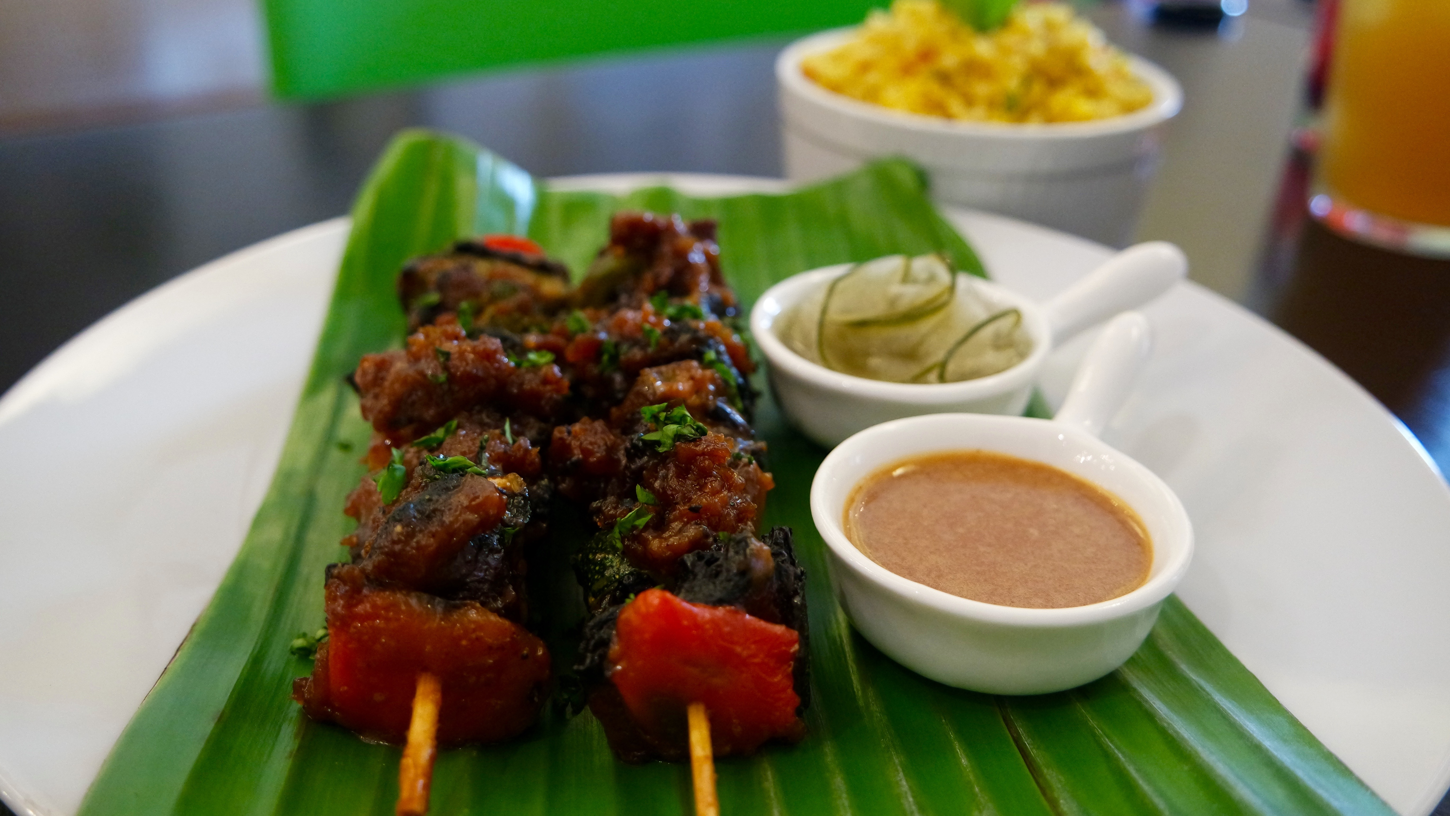 Sate BBQ with gluten